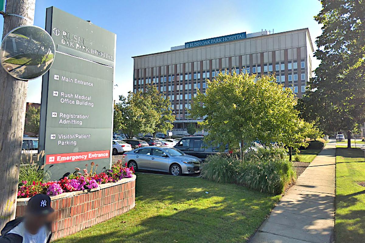 Two emergency room doctors at Rush Oak Park Hospital tested positive for coronavirus.