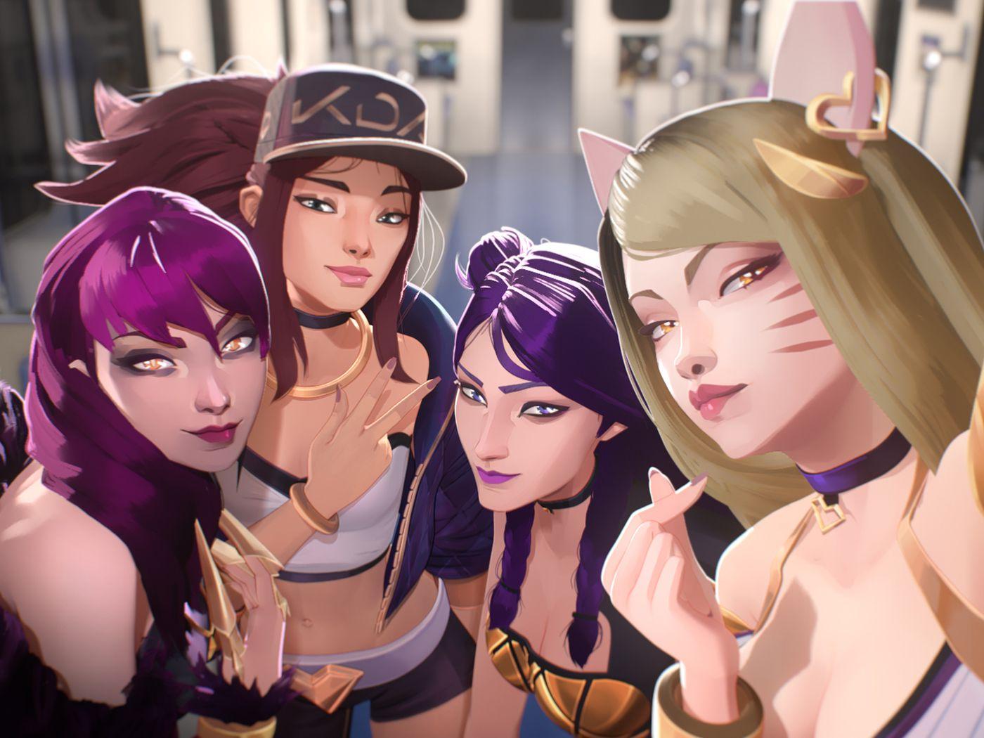 K Da League Of Legends Pop Girl Group Explained Polygon