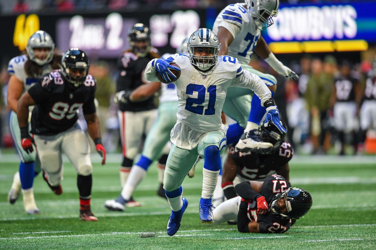 c0922085d37 Grading the Cowboys  Week 11 victory over the Falcons - Blogging The ...