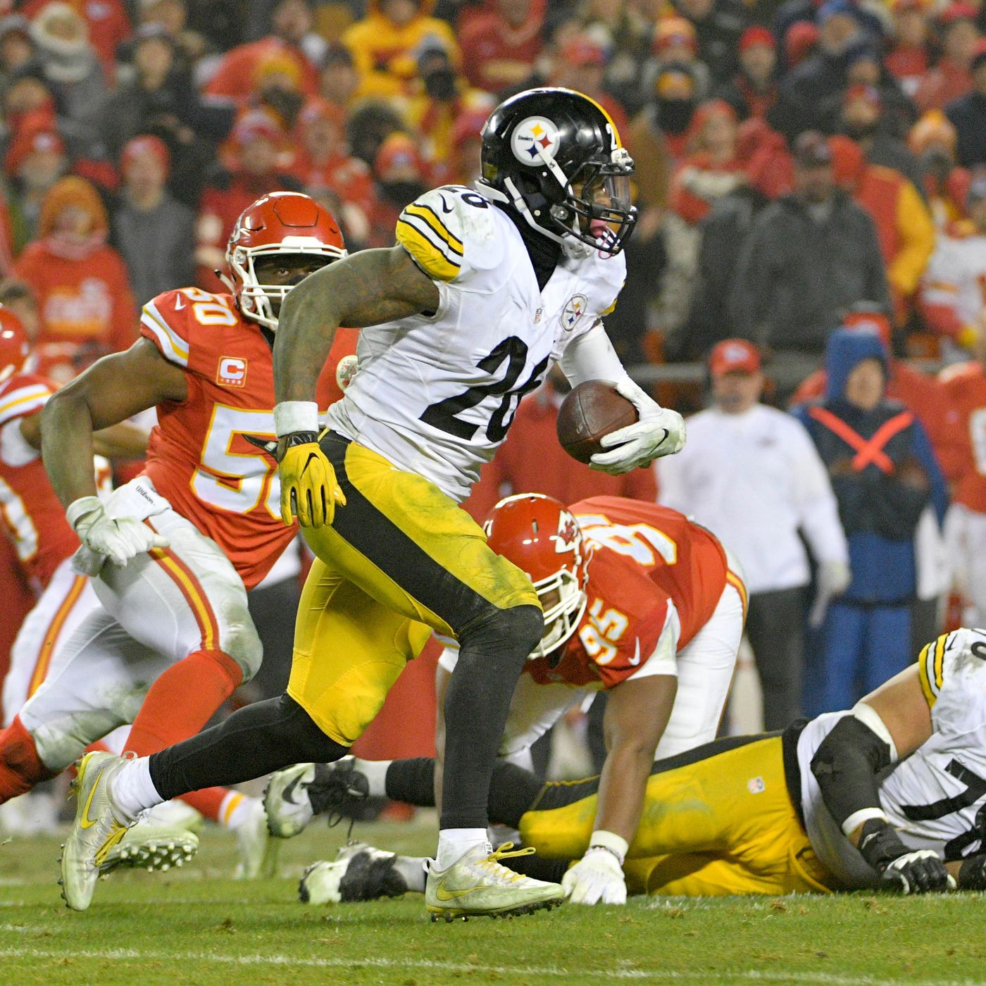 13d6d2a44f7 Steelers RB Le Veon Bell should be paid like a receiver