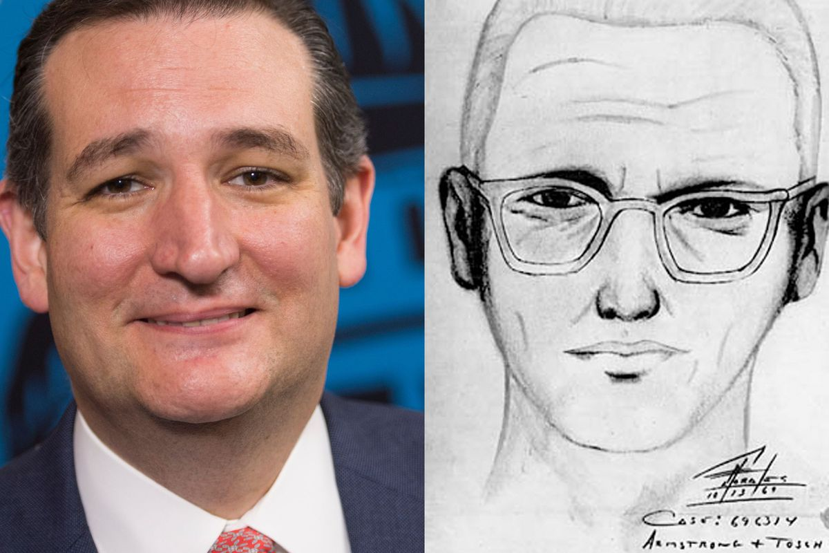 You May Have Heard Rumblings On Your Social Media Platform Of Choice About Ted Cruz And The Zodiac Killer And How The Two Might Be One In The Same