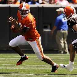 2010: Appeared in 8 games, started 4. 64/101 for 694 yards, 4 TDs.