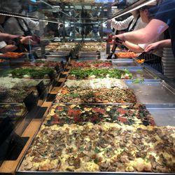 Roman Al Taglio style pan pizza at Bonci in Chicago. | Sun-Times Staff