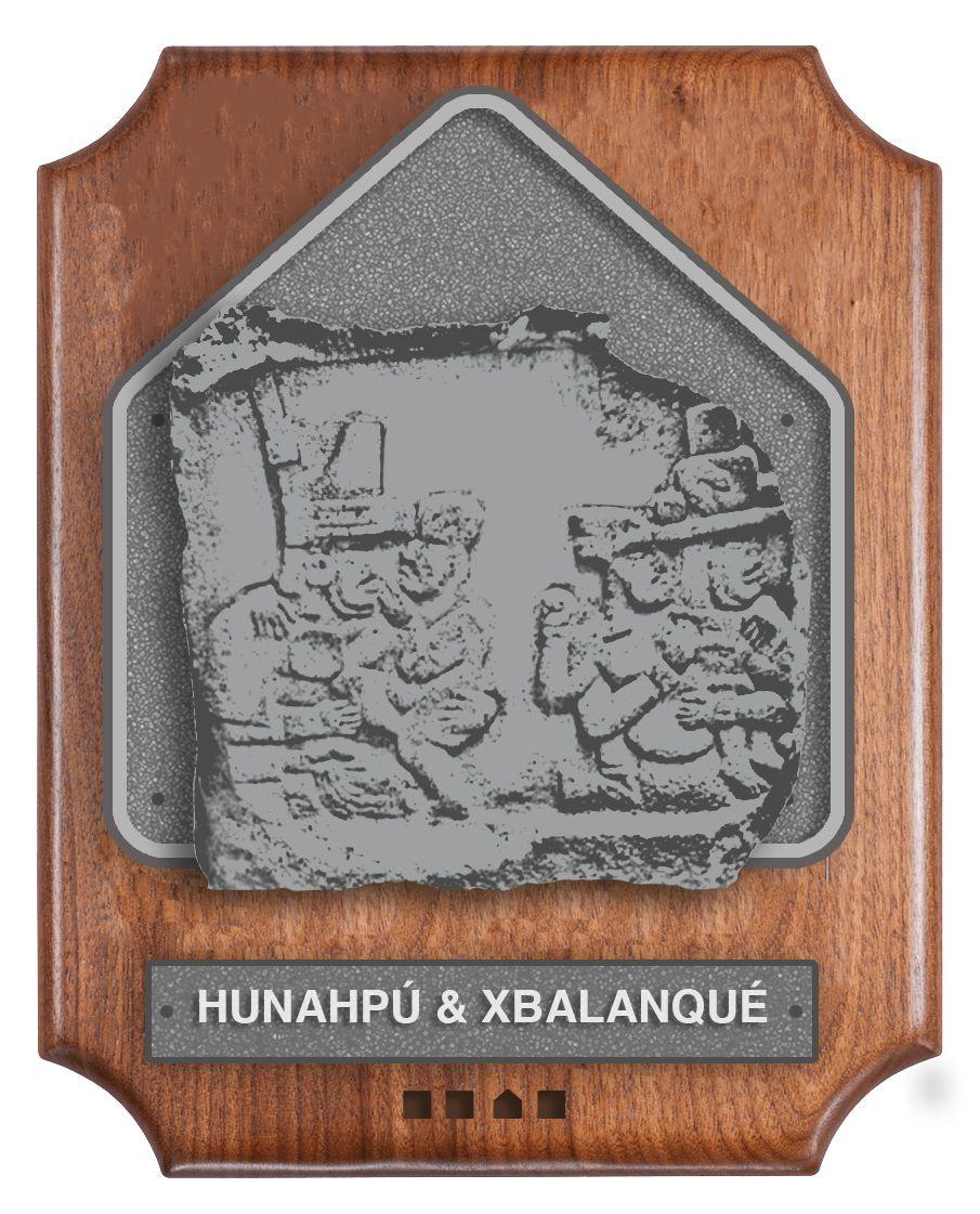 Hunahpu & Xbalanque's Hall of Fame plaque