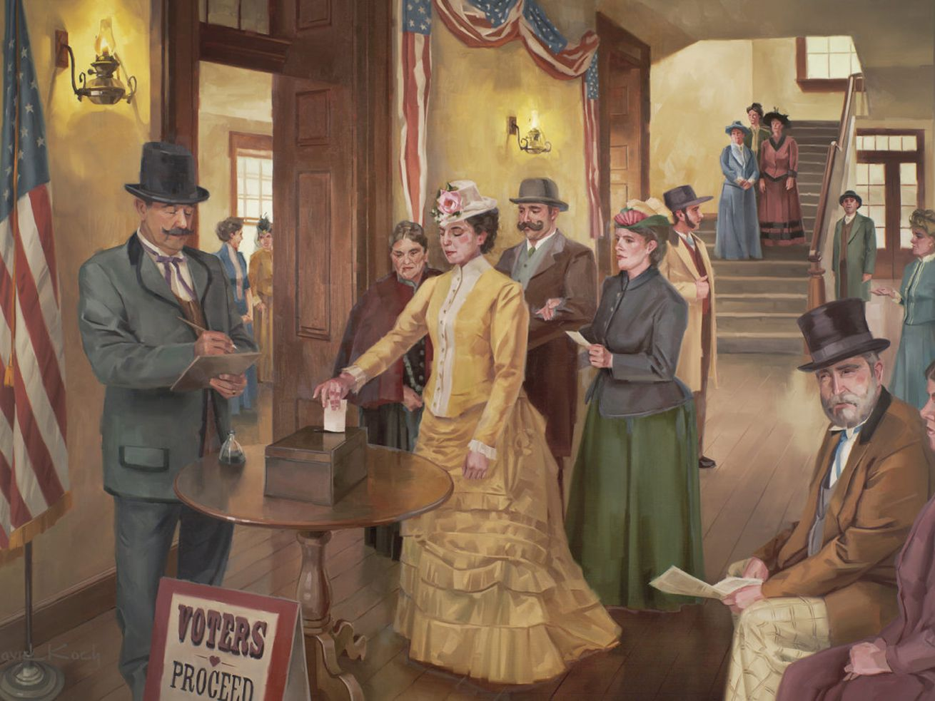 Remembering the First Vote — and the Utah woman who cast it