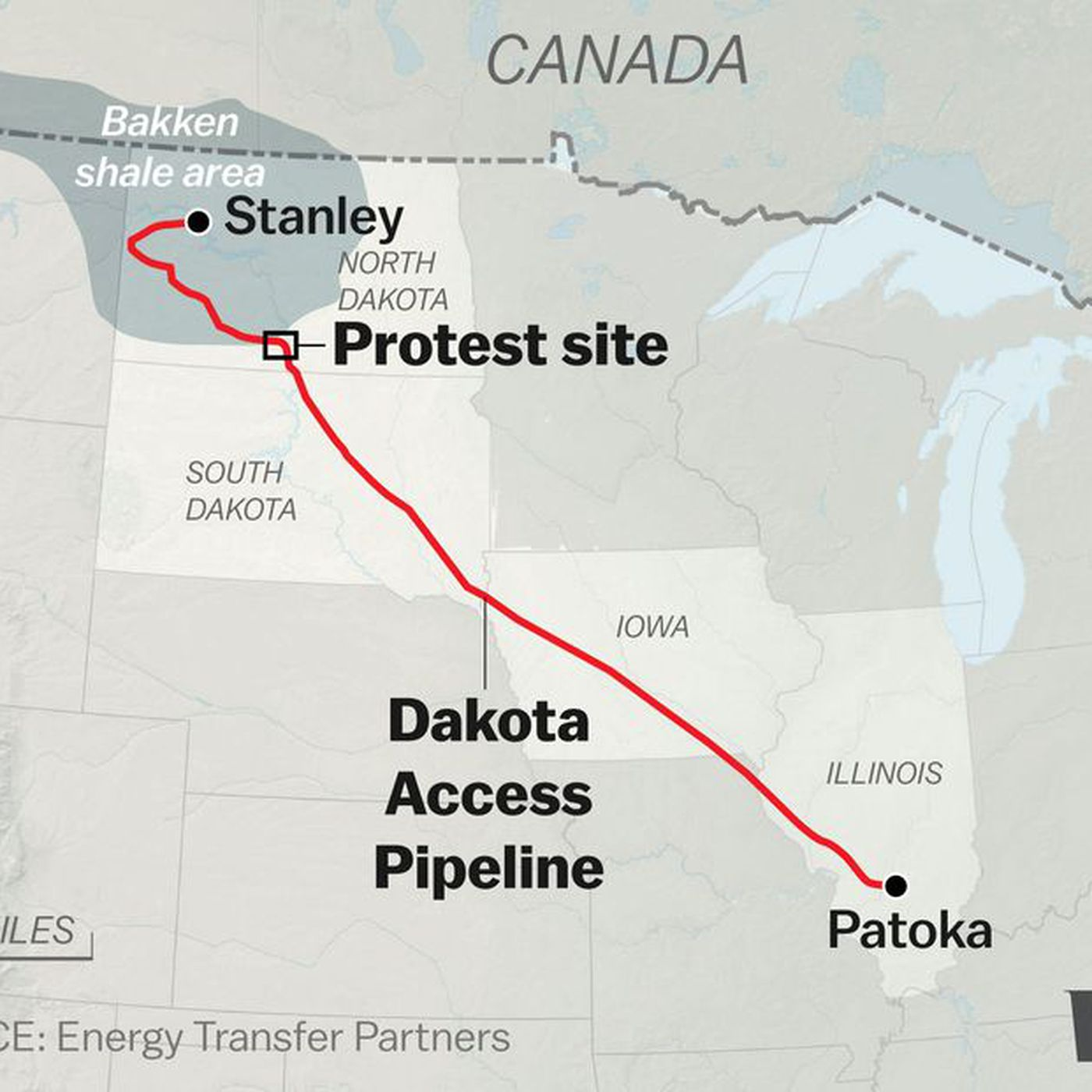 Dakota Access Pipeline Iowa Map.The Trump Administration Is Giving Final Approval For The Dakota