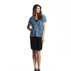 Darted tee, $44*; Drawstring skirt, $54
