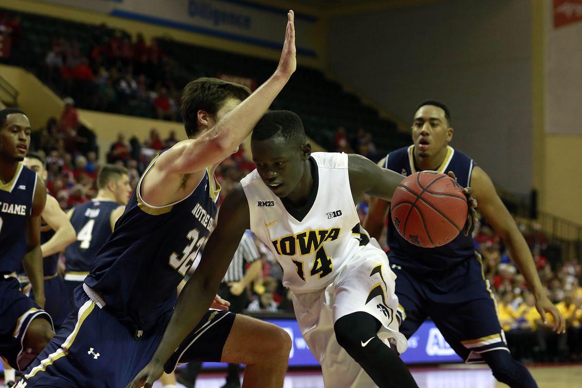 NCAA Basketball: Advocare International- Iowa vs Notre Dame