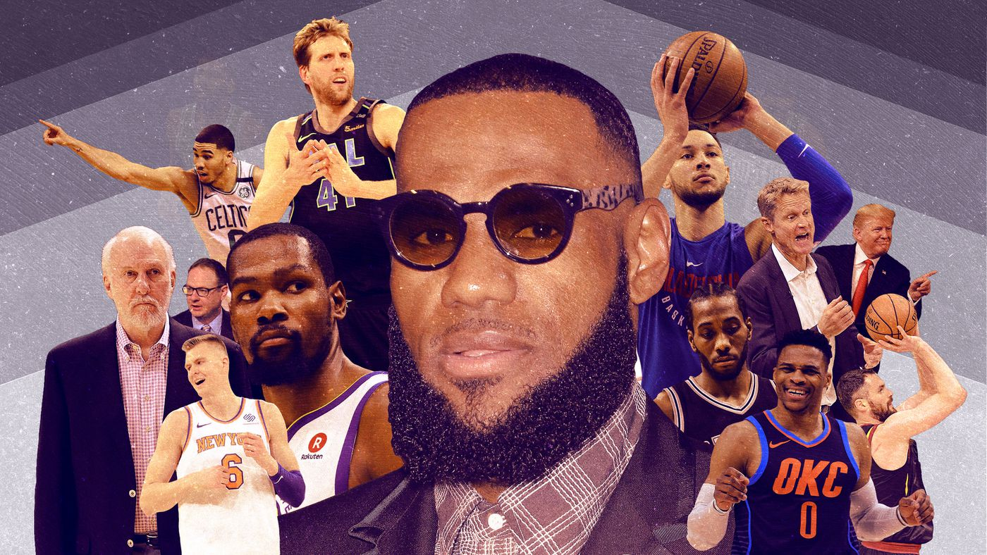 76fec34cf The 34 People and Things That Will Define the 2018-19 NBA Season - The  Ringer