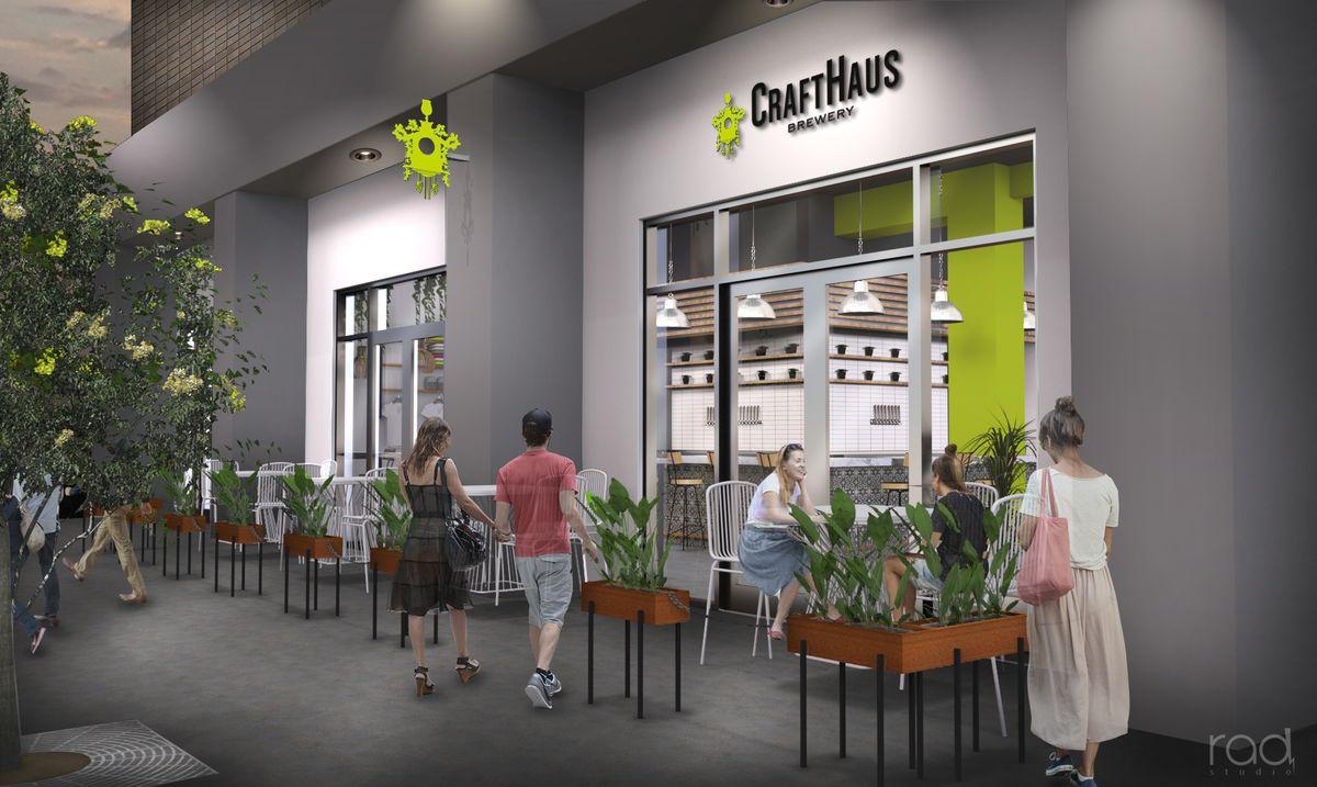 CraftHaus Tasting Room
