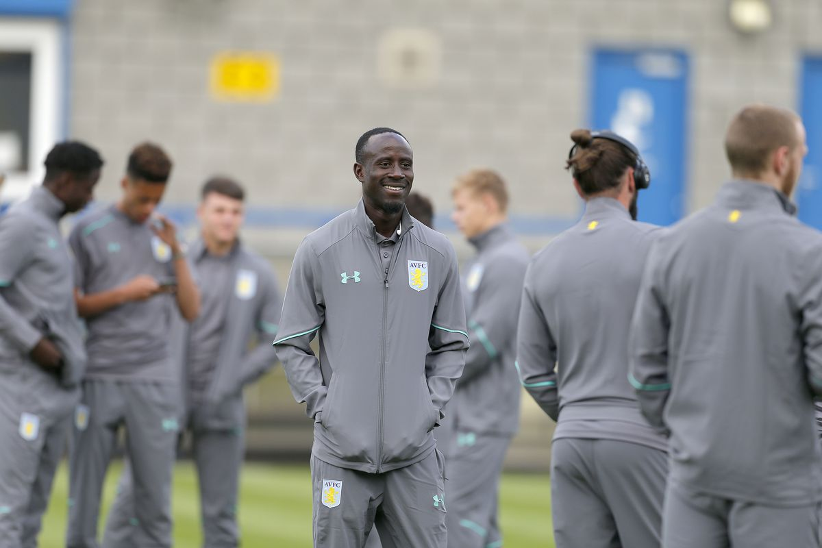 TELFORD, ENGLAND - JULY 12: Albert Adomah of Aston Villa during the Pre-Season Friendly between AFC Telford United and Aston Villa at New Bucks Head Stadium on July 12, 2017 in Telford, England. (Photo by Malcolm Couzens/Getty Images)