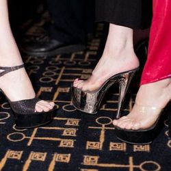 Yup, stripper heels