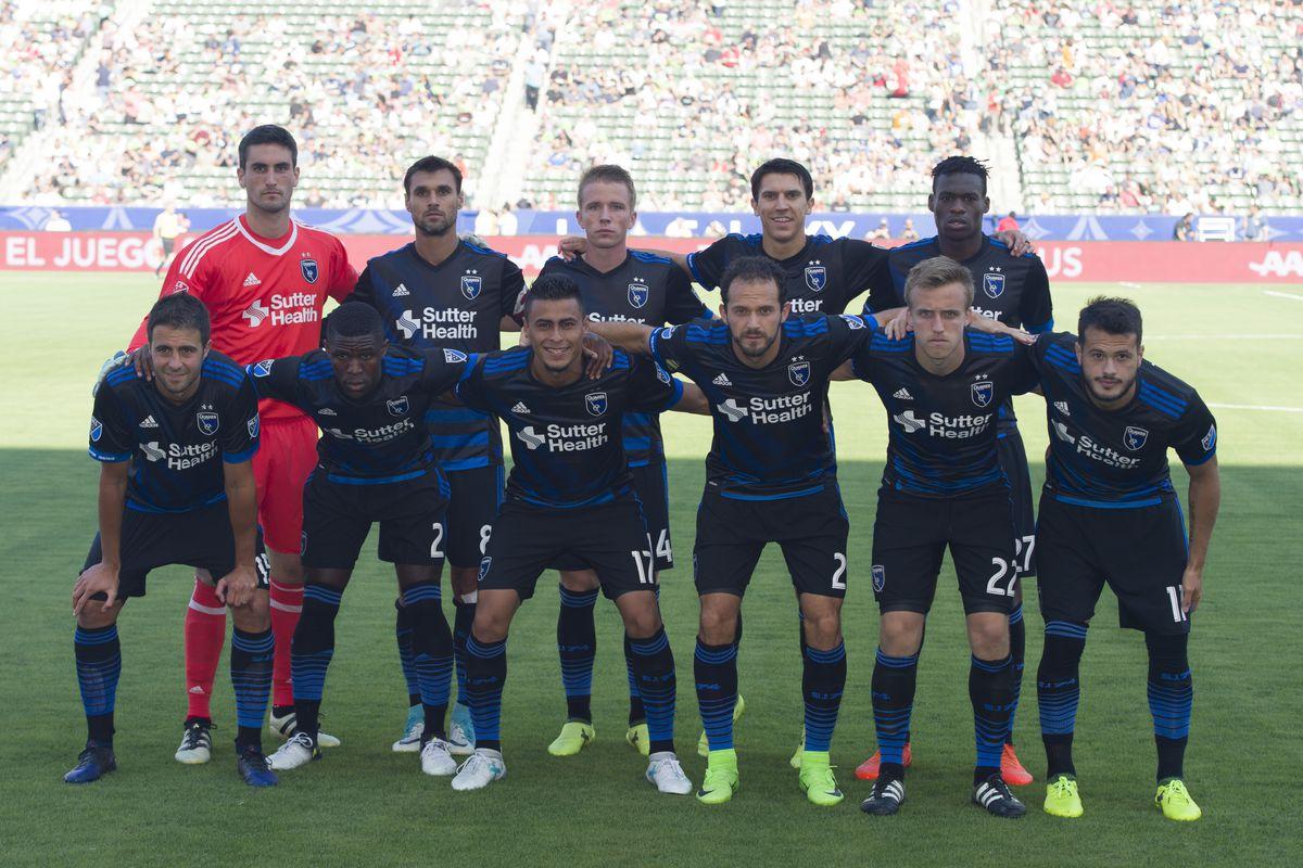 MLS: San Jose Earthquakes at Los Angeles Galaxy