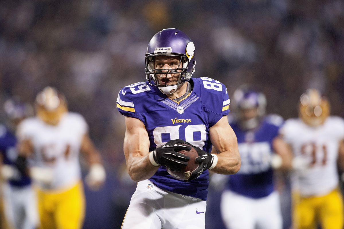 sports shoes da43d 8525a Minnesota Vikings By The Numbers: #89 - Daily Norseman