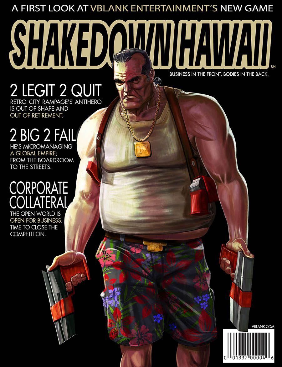 Shakedown Hawaii magazine cover poster 907
