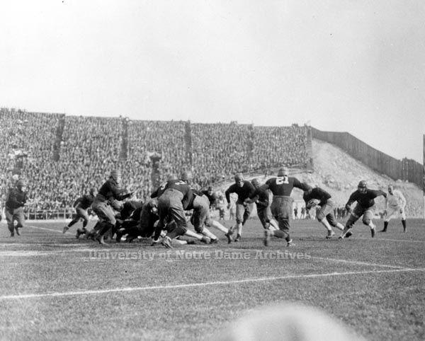 GATH 05/55:  Football Game Scene - ND  vs. Stanford, Rose Bowl, 1925/0101.