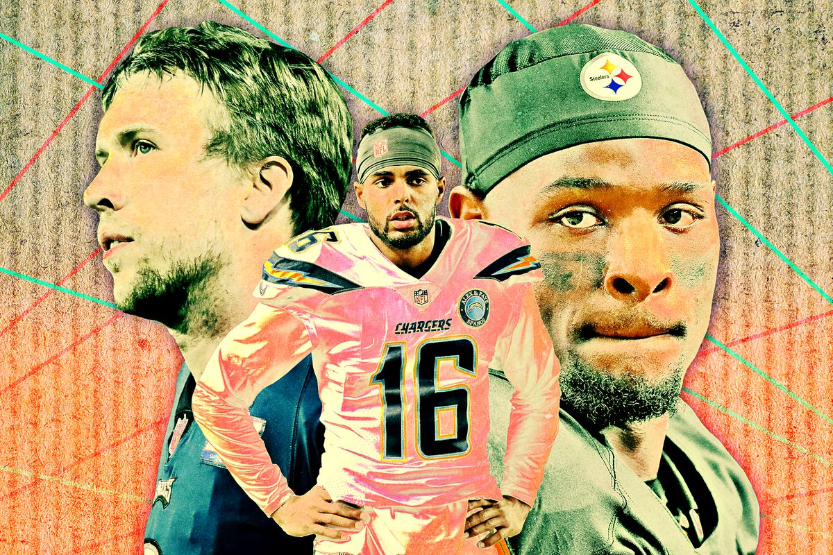 Le'Veon Bell, Nick Foles, and Tyrell Williams