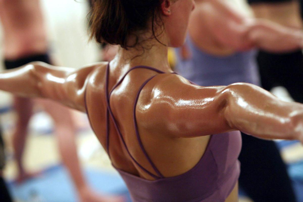 bikram yoga hook up