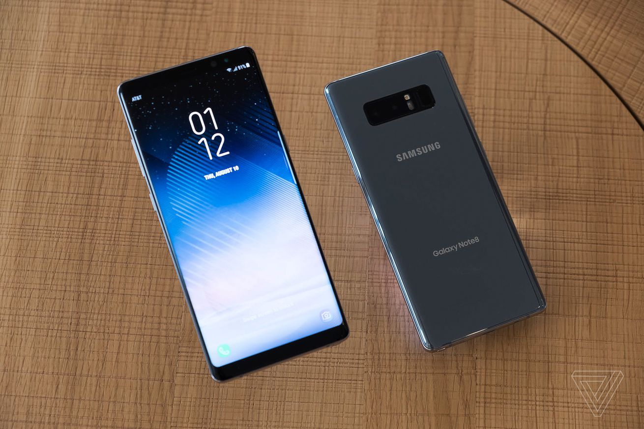 samsung s galaxy note 8 comes with a 6 3 inch screen and dual camera