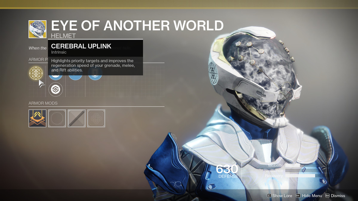 Eye of Another World Exotic Destiny 2