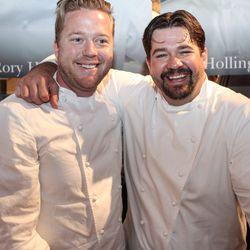 Tim Hollingsworth and Rory Herrmann