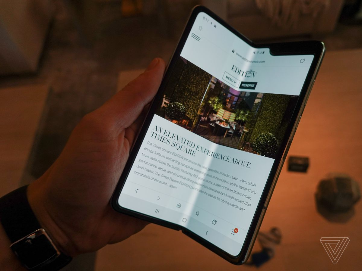 Hands-on with the Samsung Galaxy Fold: more than just a
