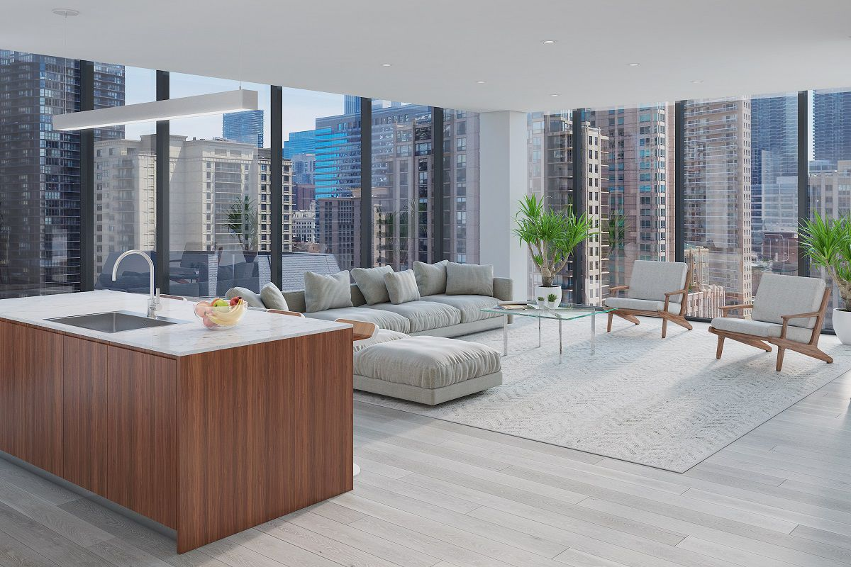 Condo project ready to rise at huron dearborn in chicago for River north boutique hotels