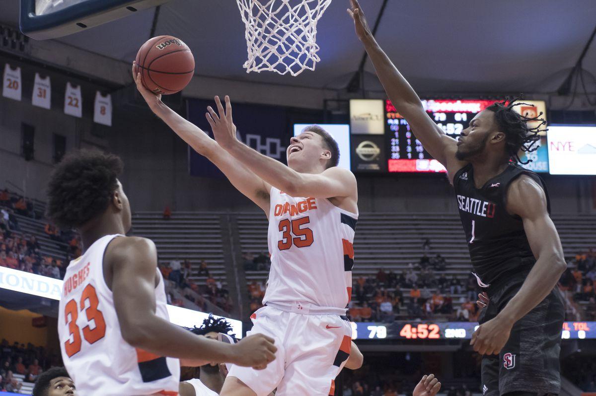 NCAA Basketball: Seattle at Syracuse