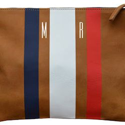 """<b>Clare Vivier</b> flat clutch, $184 (additional $50 for monogram) at <a href=""""http://www.clarevivier.com/collections/clutches/products/flat-clutch"""">Clare Vivier</a>. [Photo via <a href=""""http://www.lecatch.com/2012/06/my-new-clutch.html""""target=""""_blank"""">L"""