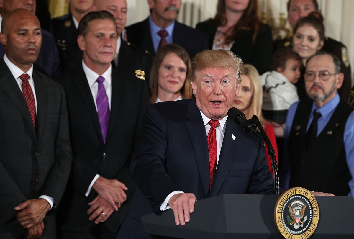 President Trump Speaks On Administration's Efforts In Combatting The Opioid Epidemic