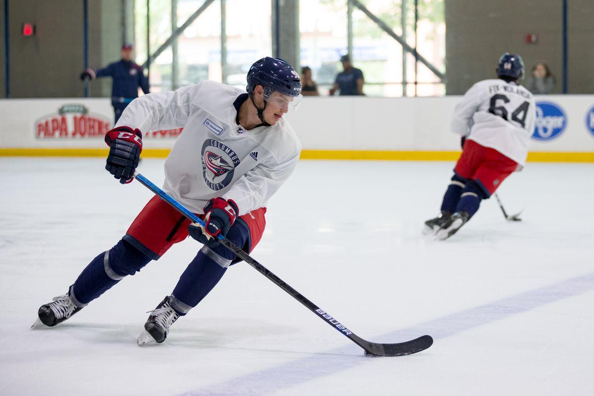 NHL: JUN 27 Columbus Blue Jackets Development Camp
