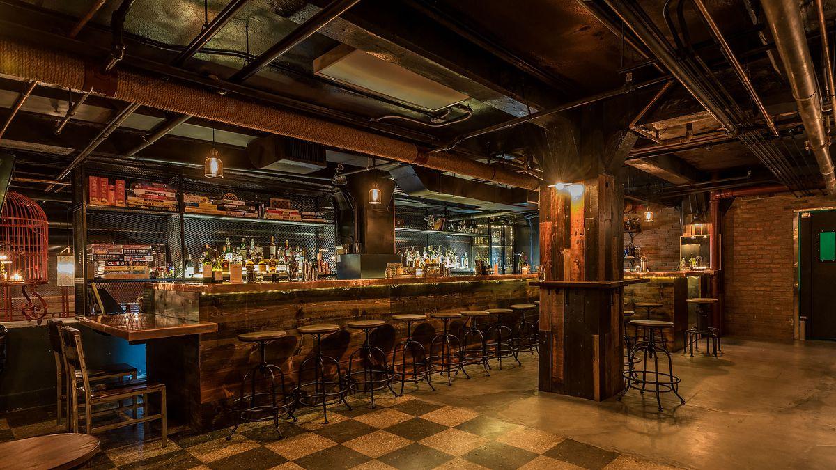 Design Basement Bar downtown las new basement bar is a world war ii era party bunker bunker