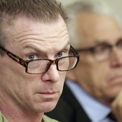 Craig Crawford looks on during a hearing Thursday, Sept. 8, 2016, in Salt Lake City.