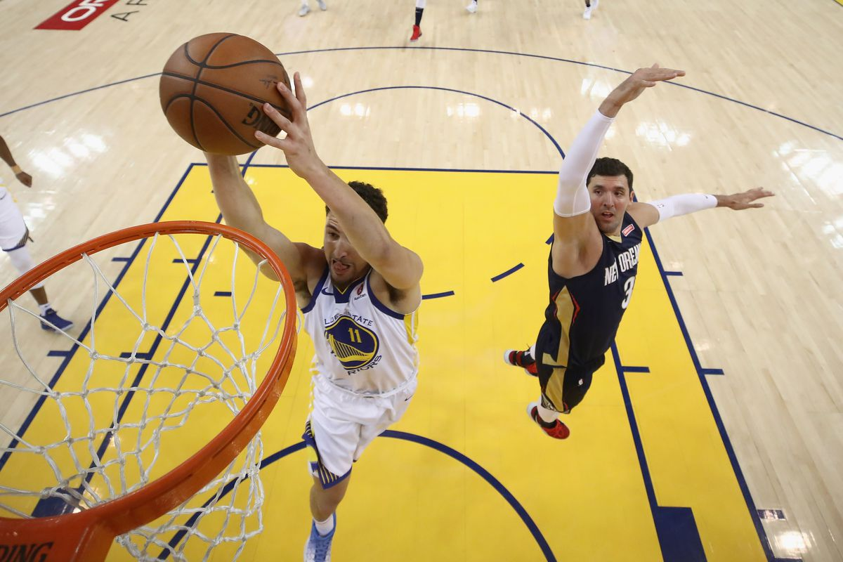 New Orleans Pelicans v Golden State Warriors - Game Five