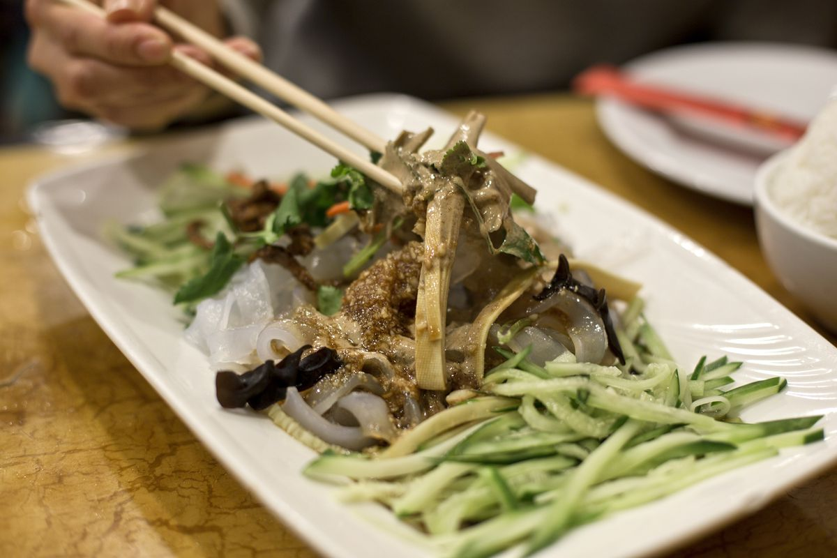 Fu Ran Tahini noodles