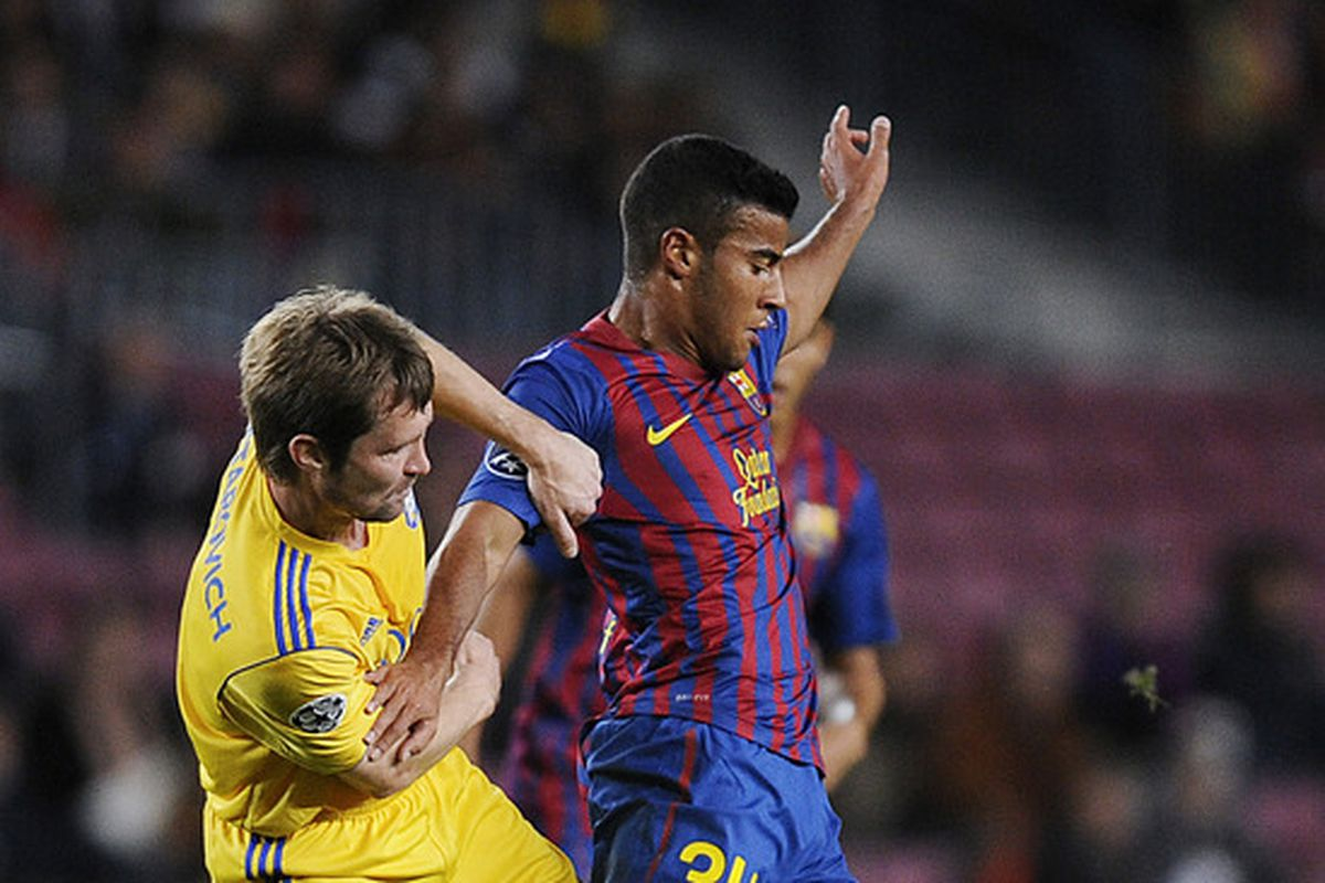Barcelona B really could've used Rafinha's talents in this game