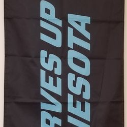 Front of the included banner