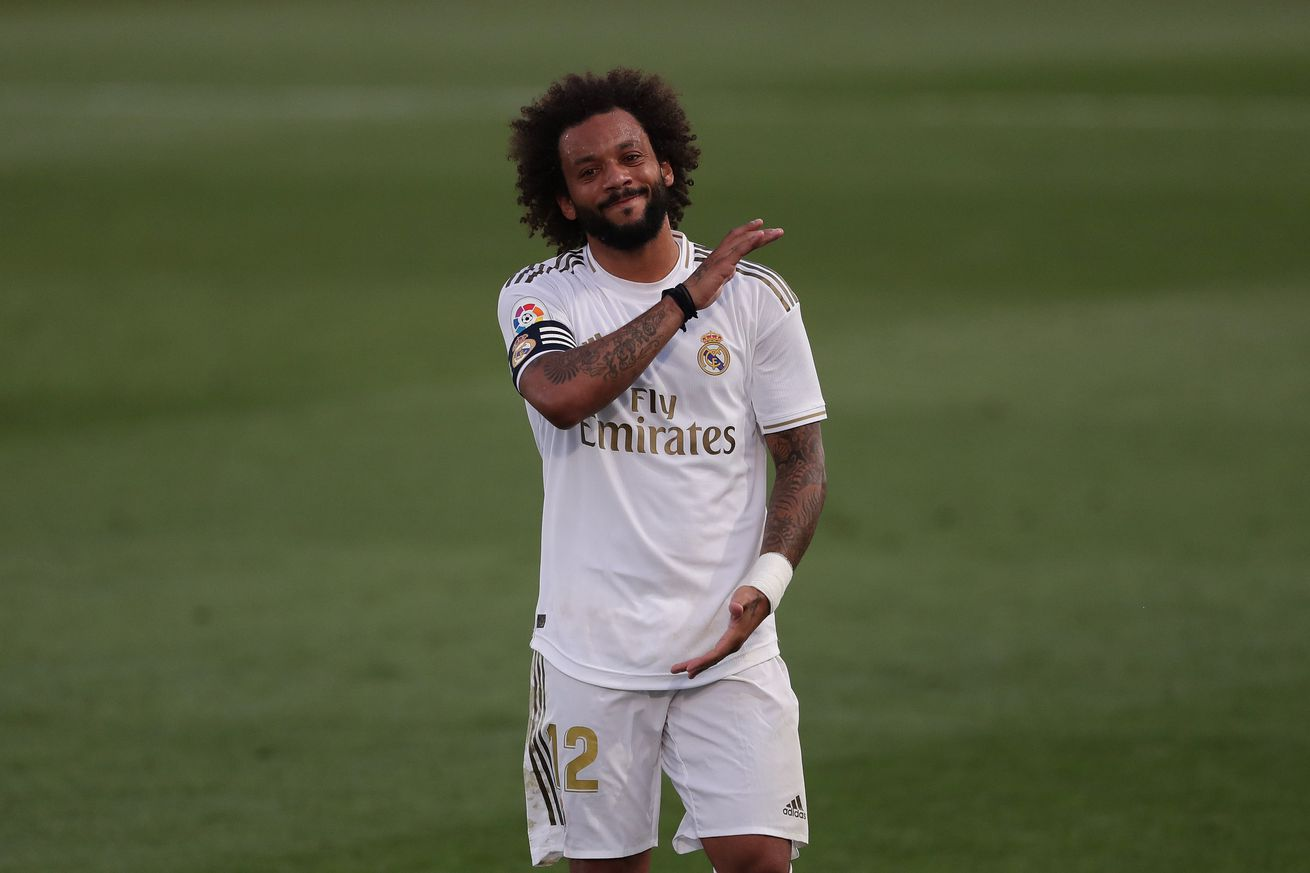 OFFICIAL: Marcelo injury report, will miss the remainder of the La Liga season