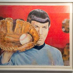 Vulcan Leather (Ballhawk and Prosper) by Eric Yahnker