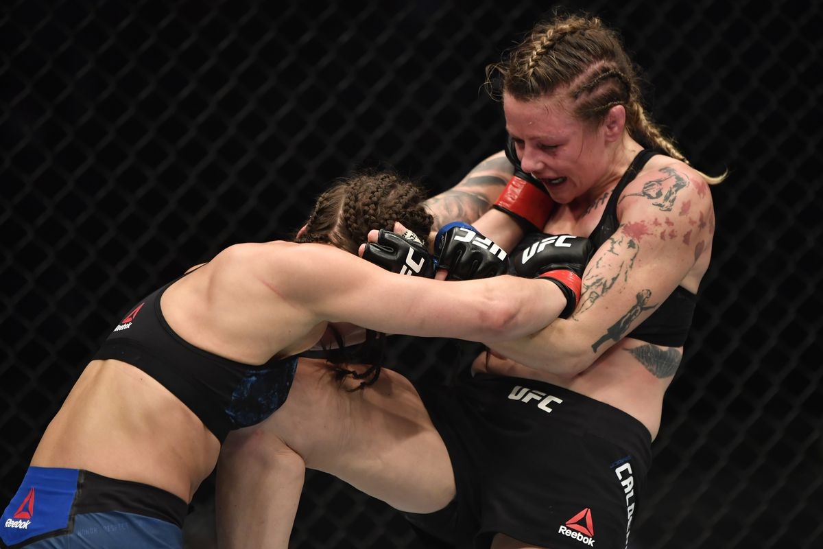 UFC 257 results: Joanne Calderwood outstrikes Jessica Eye to win unanimous decision - MMA Fighting