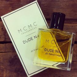 """My husband inspired the original<a href=""""http://shop.mcmcfragrances.com/collections/for-men/products/dude-no-1-beard-oil"""">Dude No. 1 Beard Oil</a>. I bring him a bottle of the new Dude No. 1 All-Natural Cologne to test-drive before the official launch ne"""