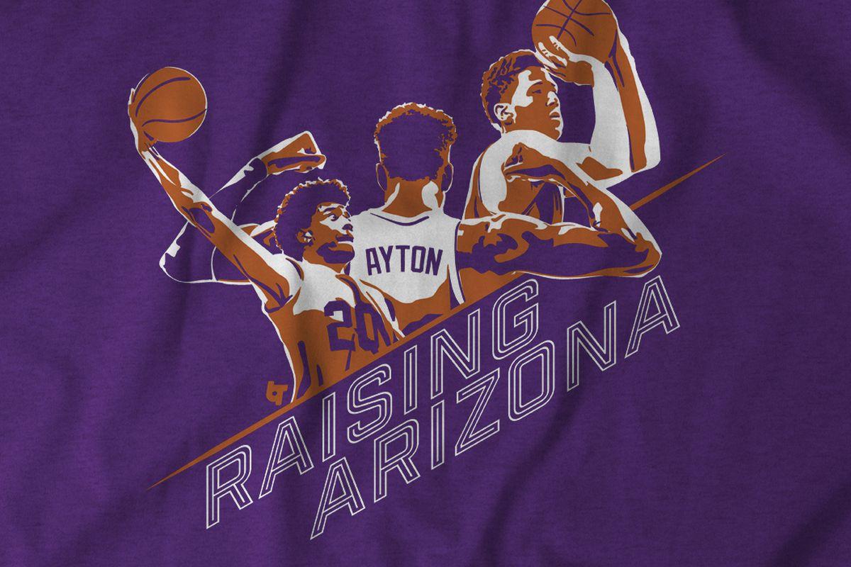 quality design 7491d 7c379 Raising Arizona! Ayton, Booker and Jackson — the first T ...
