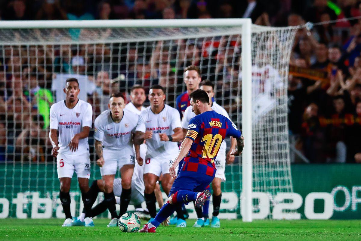 Hasil gambar untuk barca vs Sevilla