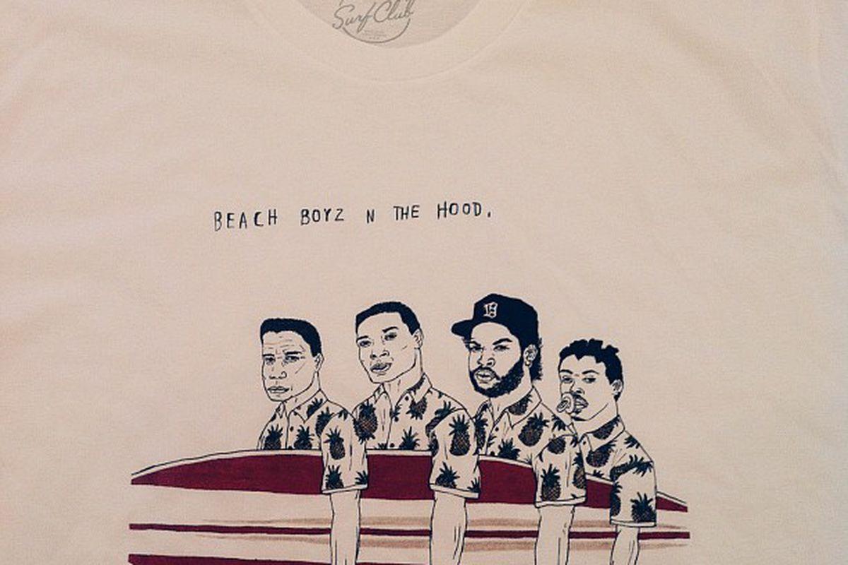 Beach Boyz N the Hood by Justin Hager