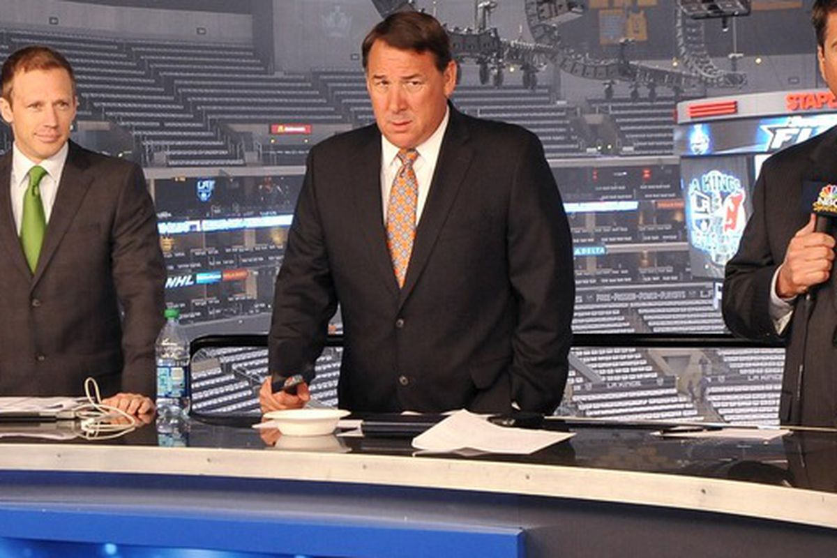 Mike Milbury is part of the reason you don't want to suffer an NBC Sports telecast covering the NHL.