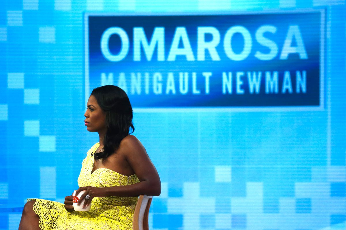 Omarosa Manigualt-Newman Promotes Her New Book On The 'Today Show'