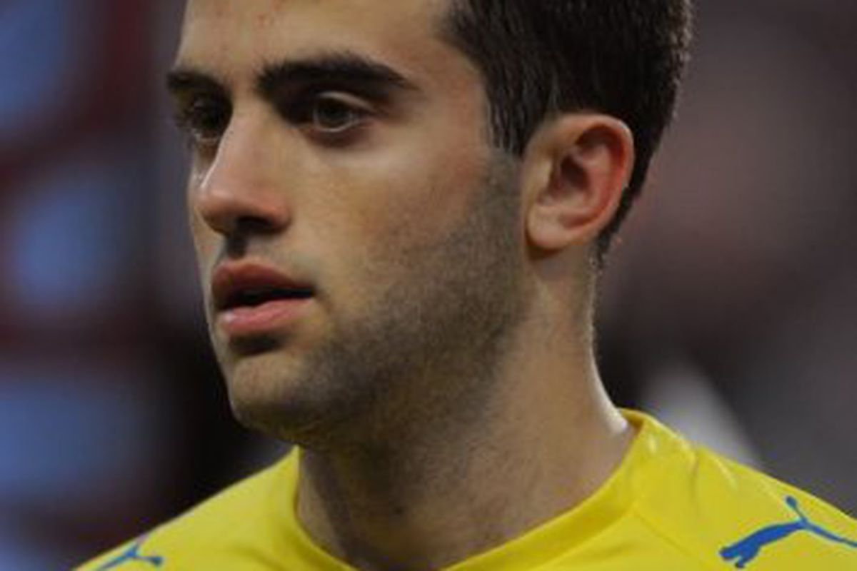 Giuseppe Rossi--comfortably leading our Villarreal player of the year poll at the moment!