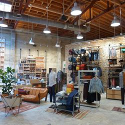 """The men's store also offers """"lifestyle essentials"""" and grooming products."""