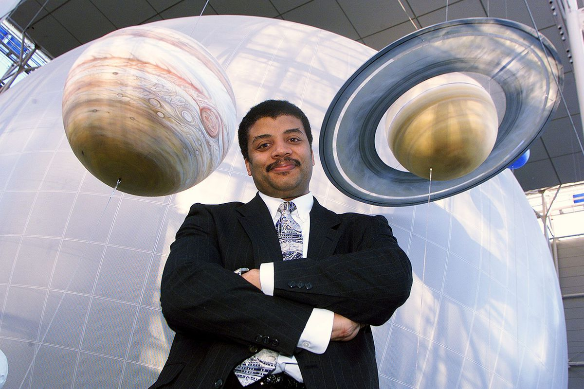 Neil de Grasse Tyson, director of the new Hayden Planetarium at the Rose Center for Earth and Space at the American Museum of Natural History