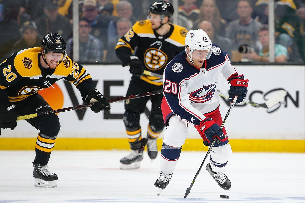 Columbus Blue Jackets v Boston Bruins - Game One
